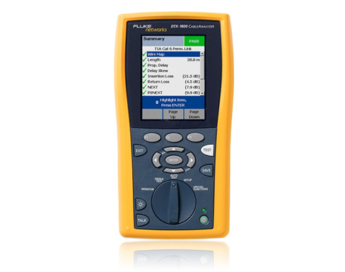 DTX-1200 CABLEANALYZER LAN CERTIFICATION TOOLSET