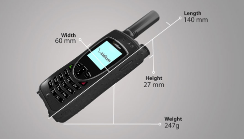 iridium extreme 9575 satellite phone