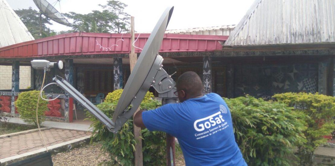 GoSat Démocratise Le Service Internet Dans Le Sud-Ouest Et Le Nord-Ouest Du Cameroun